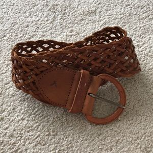 American Eagle aeo leather belt wise studded s/m